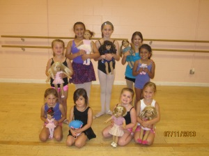 Dancing with American Girl Doll day at APAA!