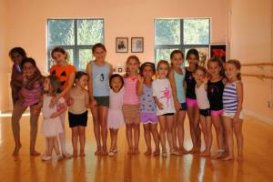 Our week 3 group - Jazzy Tumble & Angelina Ballerina!